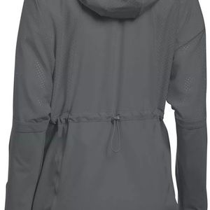 UNDER ARMOUR Squad Woven 1/2 Zip Jacket W/ Hood.